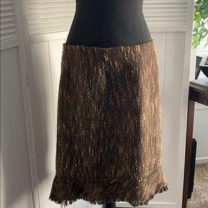 Dresses & Skirts - BOGO 🎉 Cute Black and Tan skirt